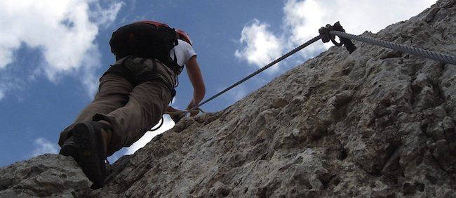 luxury dolomites tours, Via Ferrata Dolomites: Via Ferrata Schuster