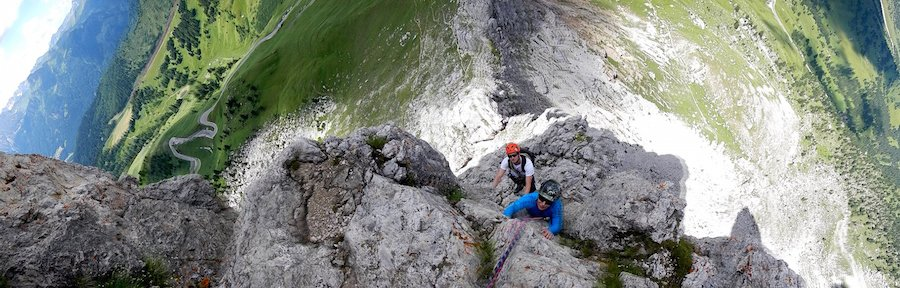 rock-climbing-dolomites-first-sella-tower