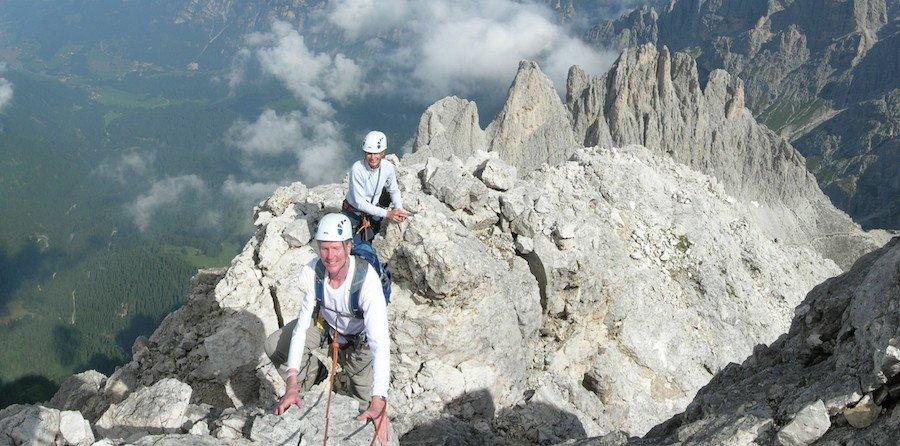 rock-climbing-dolomites-rosengarten
