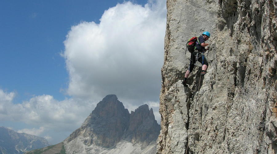 rock-climbing-dolomites-second-sella-tower