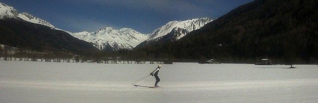 dolomites cross country ski