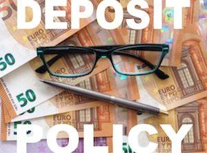 Via Ferrata Dolomites: deposit policy