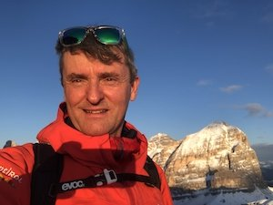 mountain guide Roberto Iacopelli, luxury dolomites tours