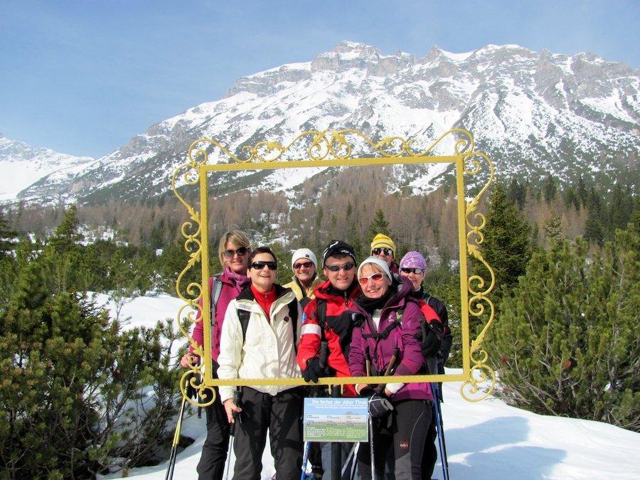 Ciaspolate in Dolomiti durante tutto l'inverno