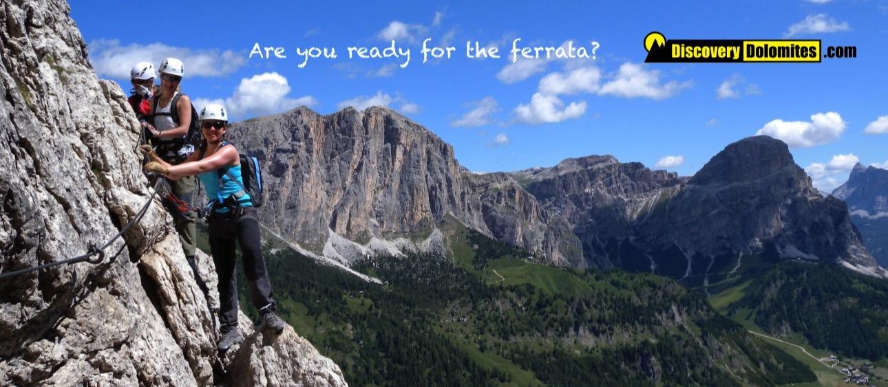 Via Ferrata Dolomites cover