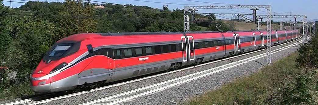 Dolomites train